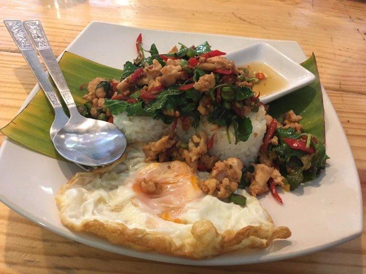 spicy basil chicken 1