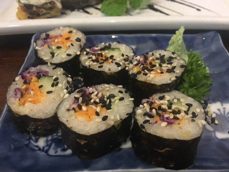 veggie sushi 2